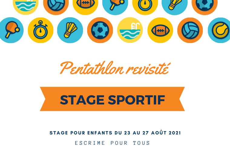 Stage sportif du 23 au 27 août 2021 – Fontenay-Aux-Roses