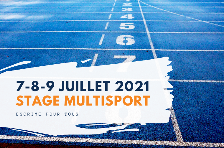 Stage multisport 7-8-9 juillet 2021 à Fontenay-Aux-Roses